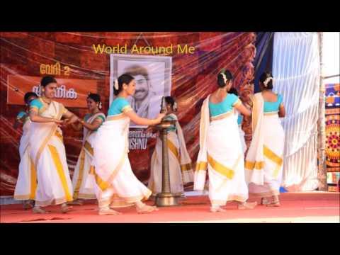 Thiruvathirakali- Christ College Irinjalakkuada D Zone Youth Fest 2017