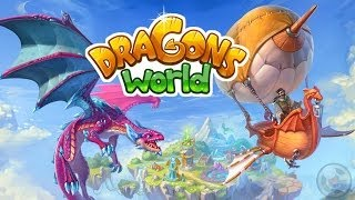 Dragons World HD - iPad - Gameplay