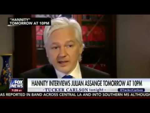"Assange To Hannity: Source for WikiLeaks was ABSOLUTELY ""NOT Russian Government"""