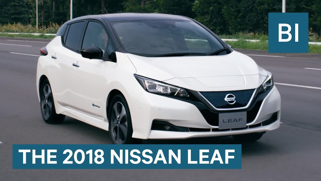 Nissan joins the fight for a low-budget electric car with the new 2018 Leaf