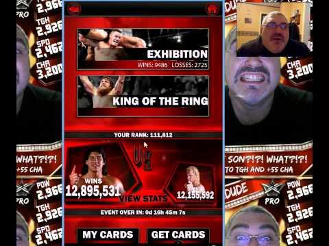 WWE Supercard #153 - KOTR w/Edward Results!! Survivor Reward!! - 동영상