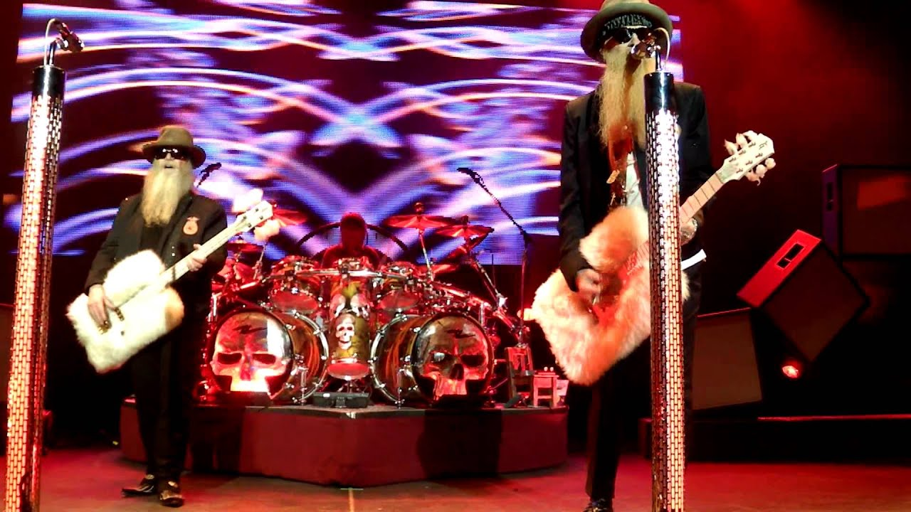 Zz Top Live Knoxville The Tennessee Theatre 6 3 2017