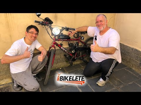 BIKELETE - Motobecane - with LED Flashlight and Lantern - Flux Capacitor Module - Part 1 of 3