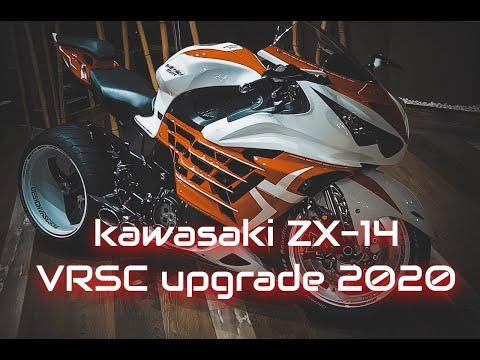 KAWASAKI ZX-14 VRSC UPGRADE 2020 / KAWASAKI ZZR 1400 customized