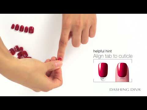 How To Apply & Remove Dashing Diva Magic Press Nails