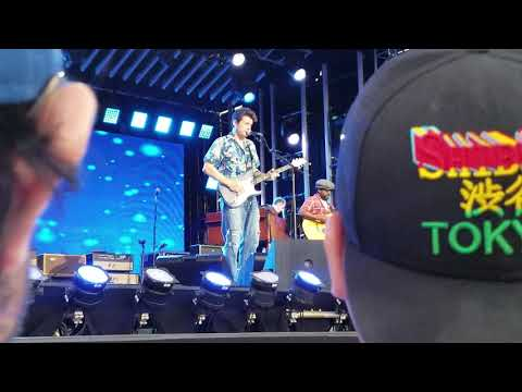 John Mayer Slow Dancing In A Burning Room Jimmy Kimmel Live  9/18/18