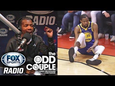 Rob Parker - Warriors Let Kevin Durant Down. KD NEVER SHOULD'VE PLAYED.