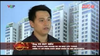 Chung cư Hạ Long Newlife Tower : Bản tin VTC1 24/8/2015