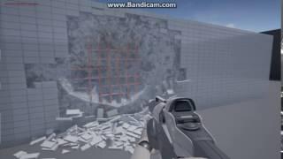 Unreal Engine 4 - Destruction Test