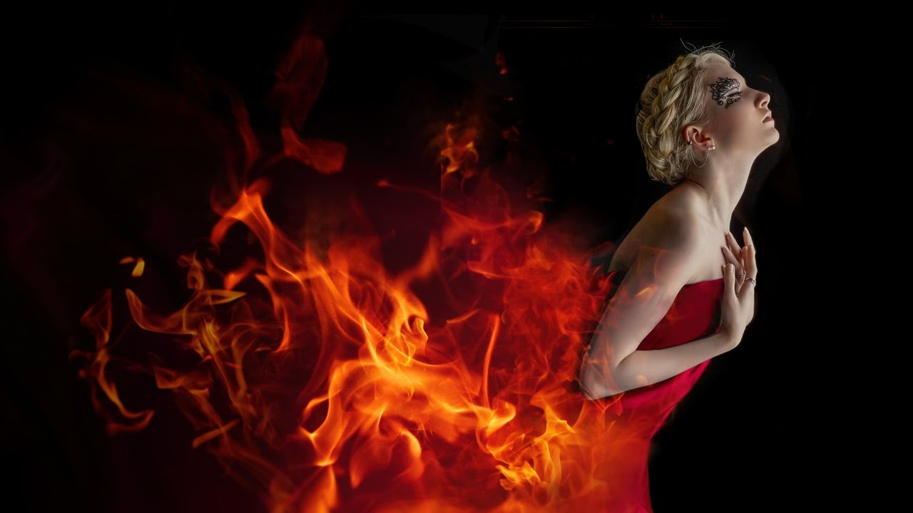 Text on flames: photoshop effects tutorial techdivine creative.