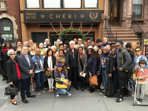 Harlem Comes Out for Chéri Restaurant and Chef Alain Eoche