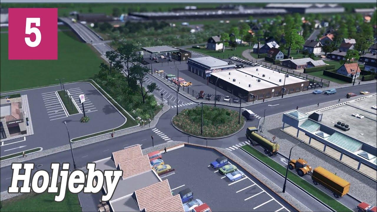 Cities:Skylines | Holjeby #5 - Shady Car Dealer