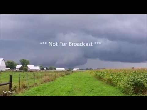 Michael Enfield Tornado Damage Ft Wayne Indiana August 24th 2016 NFB