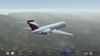 Infinite Flight Boeing 717 Flight Timelapse (KLAX-KSAN)