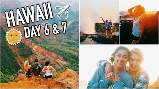 Traveling to Kauai, Waterfalls, Hikes, & Bonfires! HAWAII DAY 6 & 7!
