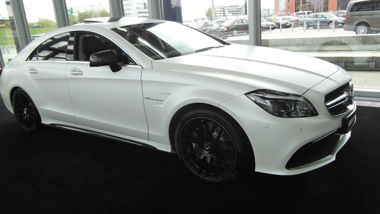 2015 mercedes-benz cls 63 amg 4matic $200k detailed in depth