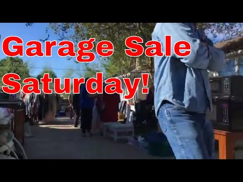 Saturday Garage Sale Ride Along and Haul