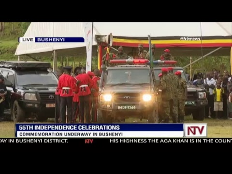 Uganda Celebrates 55 years of Independence