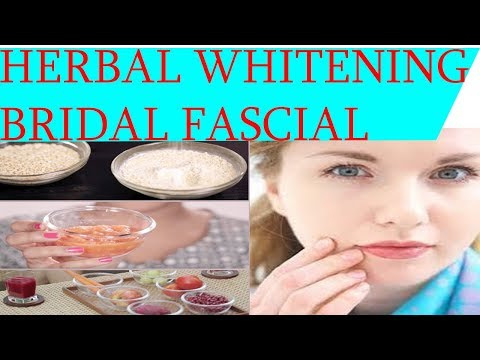 HERBAL WHITENING FASCIAL AT HOMEINSTANT GLOW