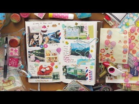 Midori Traveler's Notebook (ミドリトラベラーズノート) THROWBACK Journaling #01