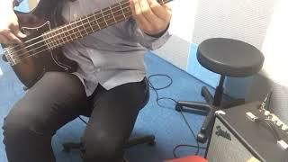 베이스(bass) 입문 - 빅뱅(bigbang)  blue cover
