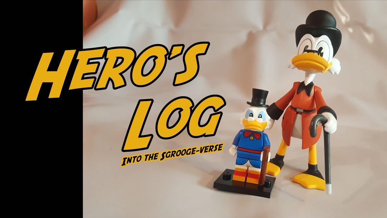 Hero's Log   Jun 3rd 2019   TOY REVIEW   Disney Lego Scrooge McDuck +  Remake Scrooge