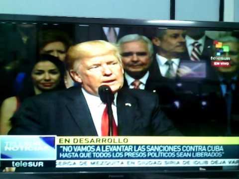 Discurso de Donald Trump sobre Cuba en Miami