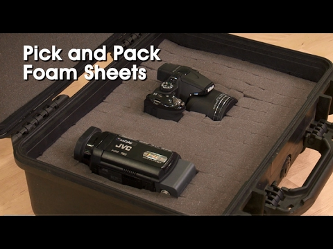 Pick And Pack Foam Youtube