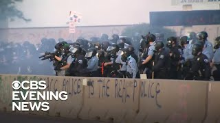 Police in Twin Cities clash with protesters in another violent night