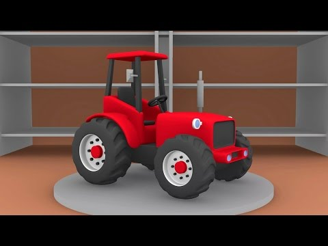 Thumbnail: ▪ Tractor for Kids | The Tale of Tractors | Formation and uses | Bajki Traktory - Dla Dzieci ▪