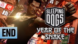 Sleeping Dogs Walkthrough - Year of the Snake DLC Part 7 ENDING Let's Play Gameplay Commentary