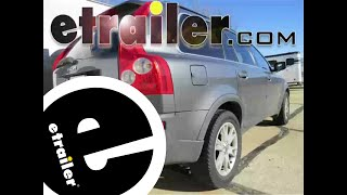 Installation of a Trailer Wiring Harness on a 2005 Volvo XC90 - etrailer.com