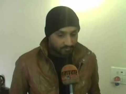 Harbhajan Singh Interviewed By Aakash Ahuja