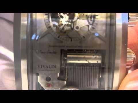 Reuge Boegli mechanical musical watch