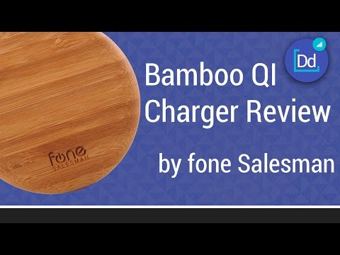 Bamboo QI Wireless Charging Puck Review