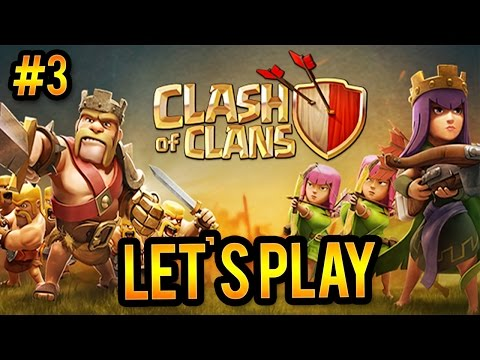 Clash Of Clans W/ Harley | Part 3- TH3 Base Design!