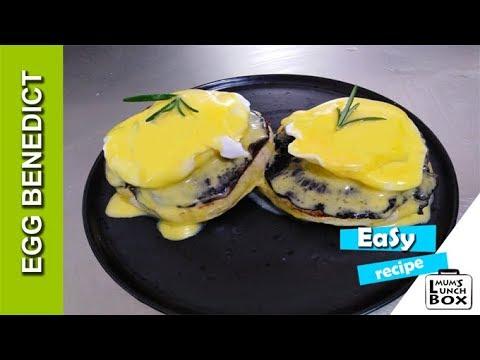 Egg benedict with Portobello Mushroom