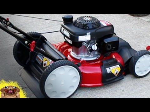 Unboxing New Mower (Troy -Bilt Self Propelled with Honda Motor)