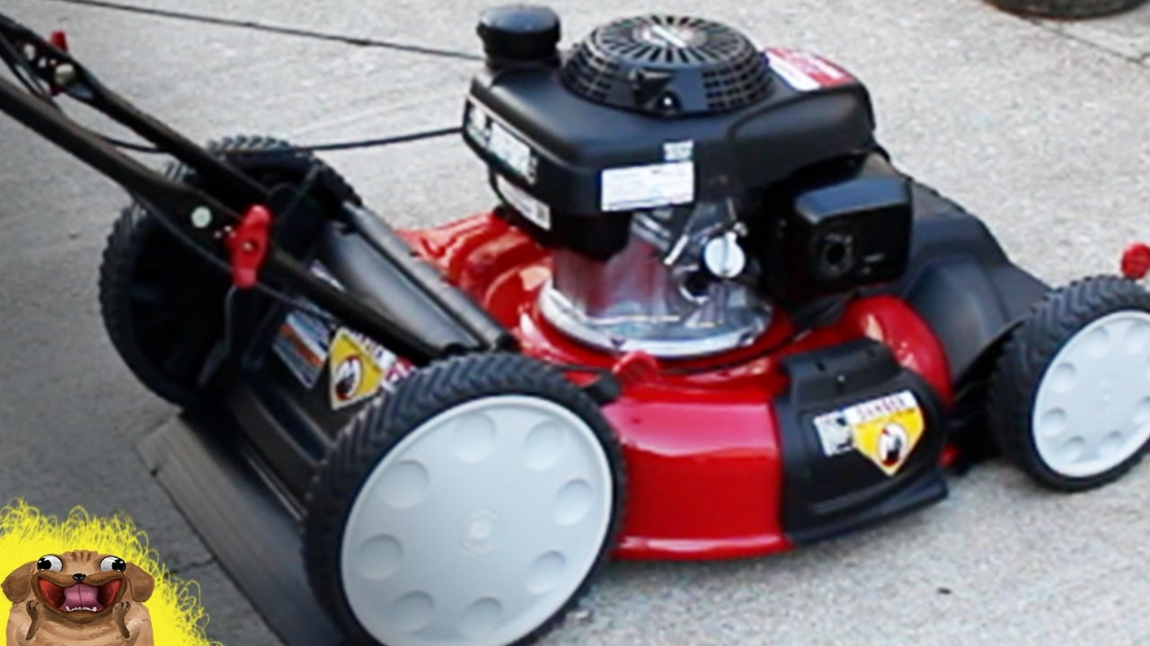 Unboxing New Mower Troy Bilt Self Propelled With Honda
