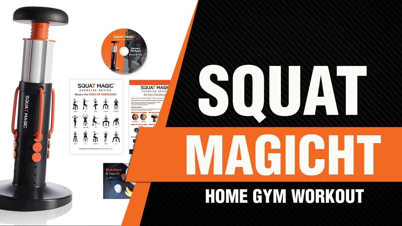 65decf0b78 Allstar Innovations Squat Magic Home Gym Workout