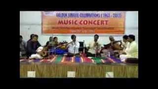 music concert of kvs at kv tirumalagiri
