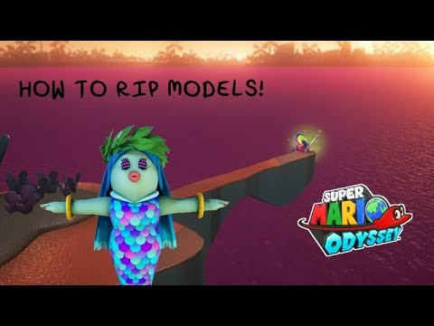 HOW TO RIP MODELS FROM SUPER MARIO ODYSSEY by TheSunCat