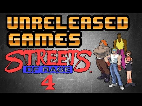 Unreleased Games | Streets Of Rage 4  [Dreamcast]