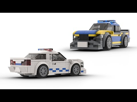 My Other Designs For LEGO Speed Champions Police Car