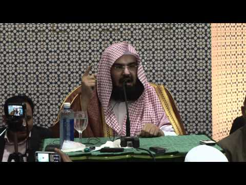 "Sheikh Al-Sudais - ""Etiquette of Seeking Knowledge"" - International Islamic University Malaysia"