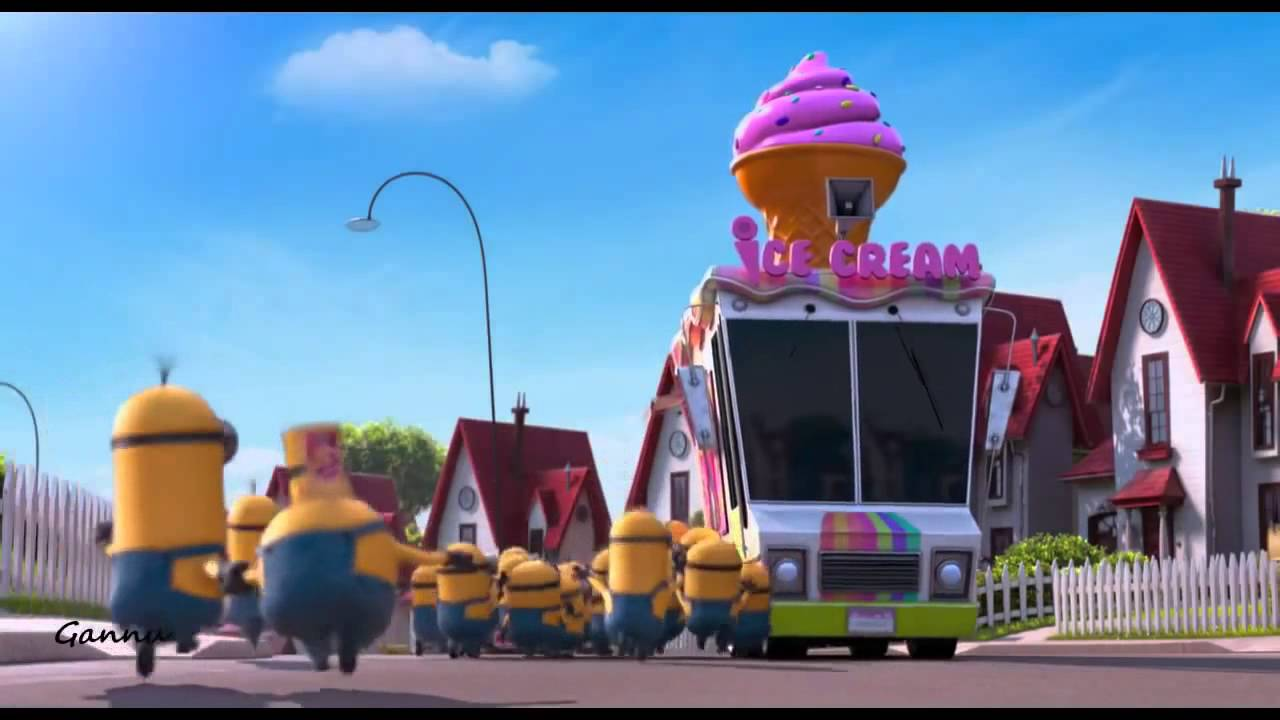 Minions and icecream truck despicable me 2 youtube