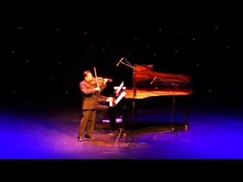 Maestro Violinist Matteo Fedeli - the 'Man of the Stradivari- Bazzini DUBAI
