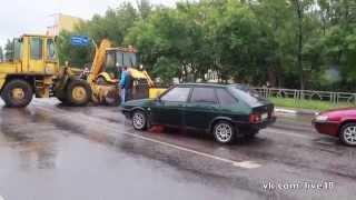 видео Дорожные работы на ул. Яблочкова