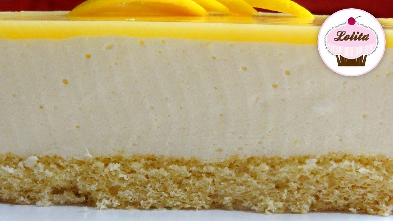 Receta tarta de limón casera   Pastel de limón   Tarta de limón sin horno