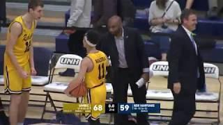 UNH MBB vs UMBC Highlights 02/11/18